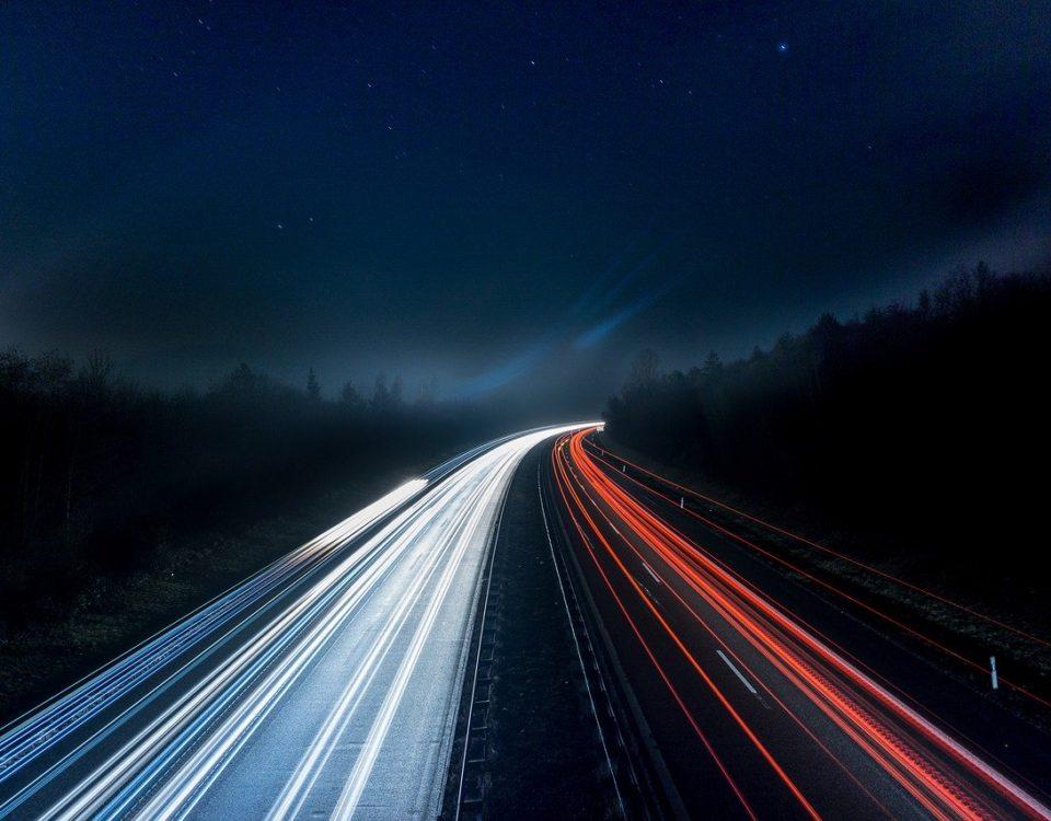 Transport de marfă pe întuneric