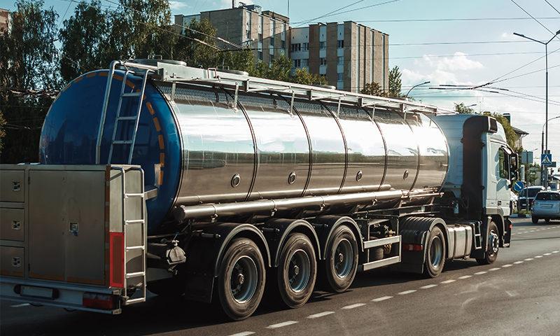 Transport intern și internațional de lapte